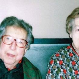 Henri Dutilleux and Genevieve Joy