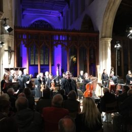 with the Marian Consort & the Berkeley Ensemble, Blythburgh Parish Church, Aldeburgh Easter Festival - March 2016