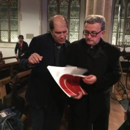 with Michael Berkeley, Aldeburgh Easter Festival - March 2016